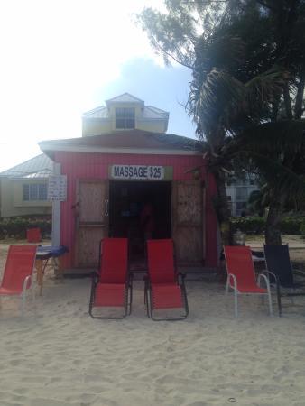 Junkanoo Beach: Vince's Massages - simply marvelous!