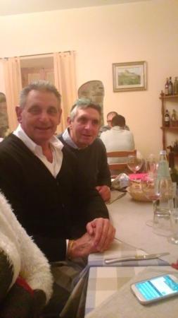Castelfranco di Sopra, Italien: i soliti due