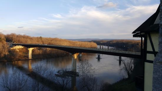 Bavarian Inn: View of the Potomac River from Suite