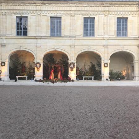Valencay, Frankrike: cours d'honneur