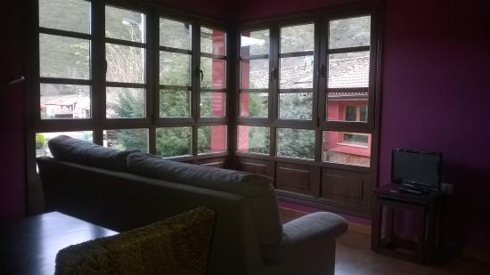 Pola de Somiedo, Hiszpania: salón