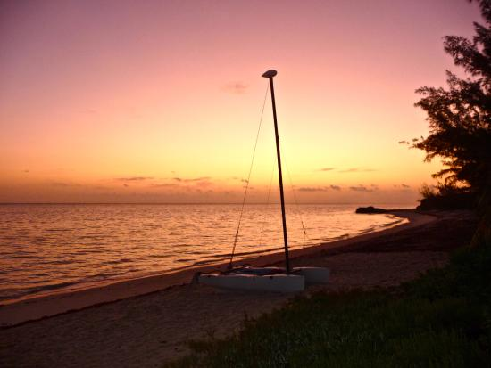 Whitby, North Caicos: Expresso coffee/ sunrise time