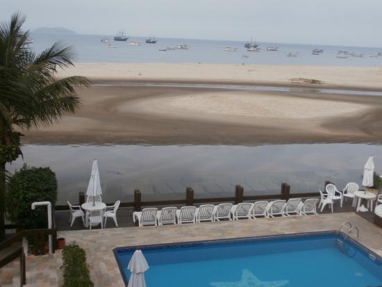Costa Norte Ponta Das Canas Hotel Florianopolis: Vista da praia