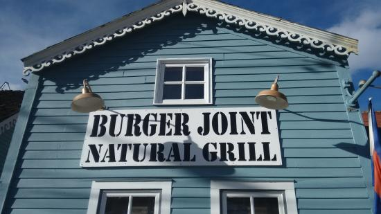 Burger Joint : New sign.
