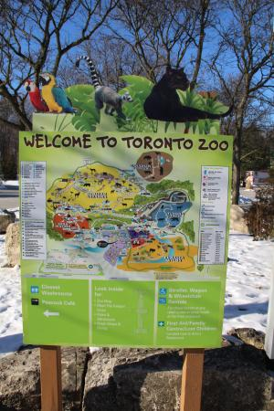 Map Picture of Toronto Zoo Toronto TripAdvisor