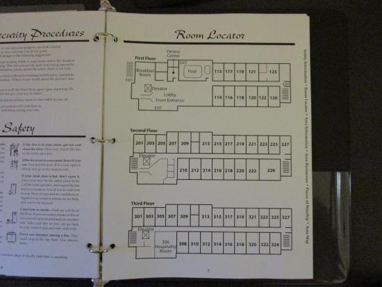 Sleep Inn & Suites : floor layout