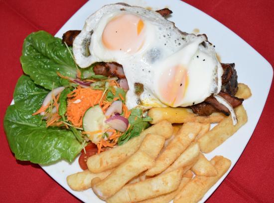 Blackwater, Australia: Great Room Service Meals