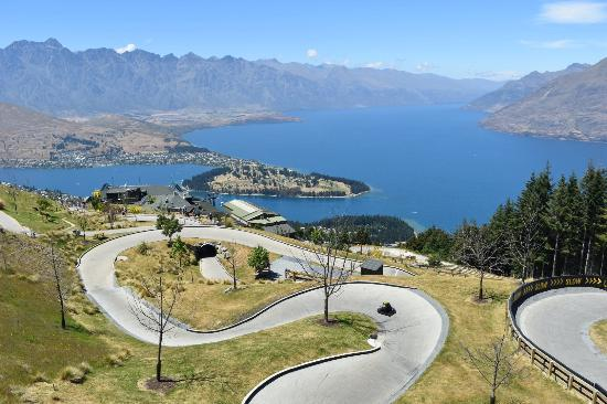 Queenstown, Yeni Zelanda: Awesome track