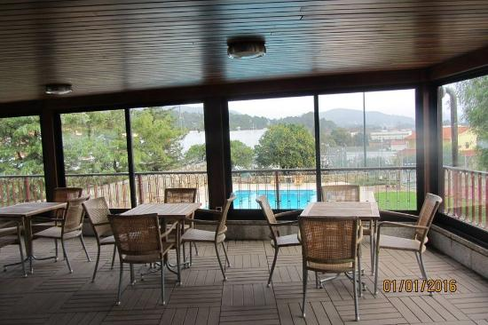 Quinta de Sao Sebastiao Hotel Rural : Salão vista piscina