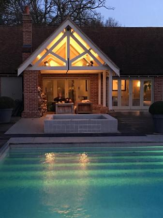Outdoor Heated Pool And Pool House Picture Of Maison Talbooth Dedham Tripadvisor