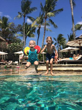 INTERCONTINENTAL Bali Resort: kids swim fun heaven in a heated pool