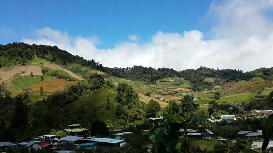 Hotel Cerro Punta: Panamá cerro punta El mirador de Guadalupe
