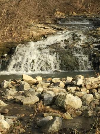 Piqua, OH: Waterfall