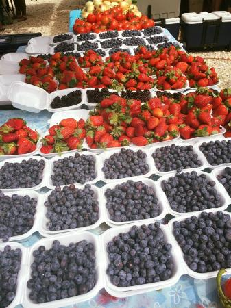 The S At Pembroke Gardens Enjoy Fresh Fruits Farmer Market Every Sunday From 10