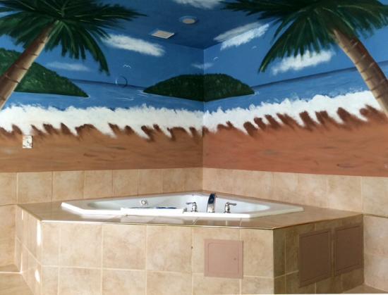 Palms Motel: Jacuzzi