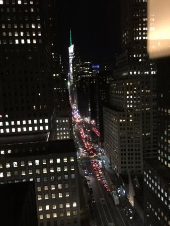 The Westin New York Grand Central: View down 42nd Street
