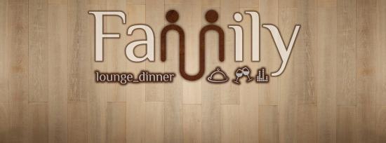 Family lounge dinner