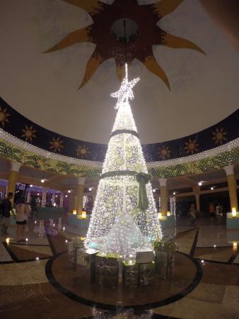 IBEROSTAR Paraiso Del Mar: Decorado navideño en el lobby