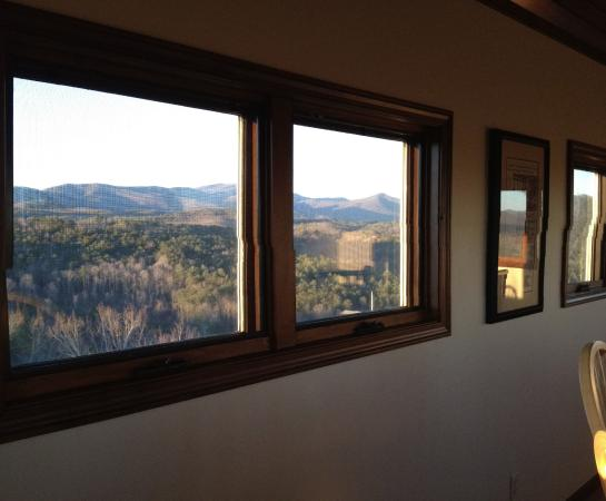 Sautee Nacoochee, Gürcistan: part of the view from the crowsnest room