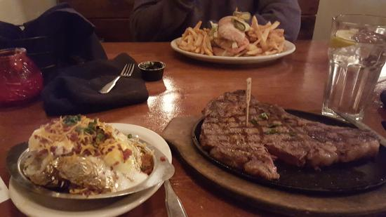 Alamo Steakhouse & Saloon: The Steak and The Burger