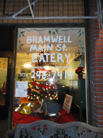 Bramwell, WV: Store front