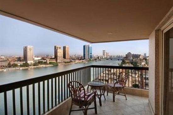 Hilton Cairo Zamalek Residences: view from room