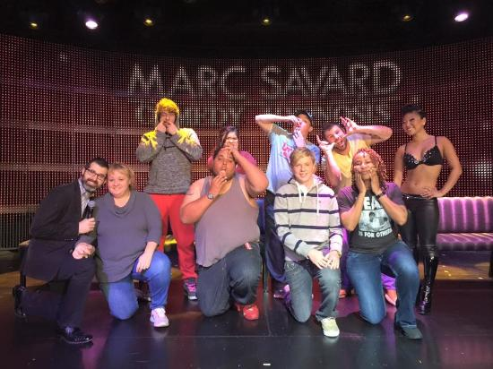 Marc Savard Comedy Hypnosis: Acting straight crazy!!!