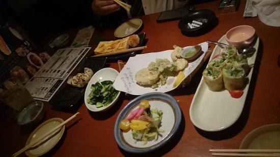 Tofuro Shiki: 料理