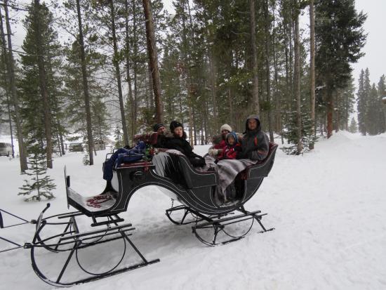 Breckenridge, CO: Nordic Sleigh Ride