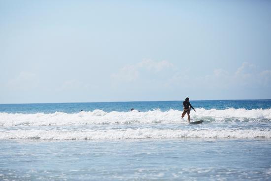 Peaks 'n Swells Surf Camp: white water