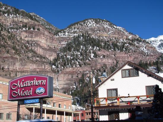 Matterhorn Motel : Whyat a view