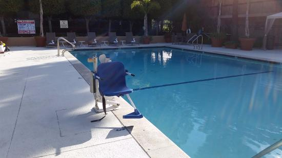 Palm Garden Hotel: Nice, kid friendly, accessible pool