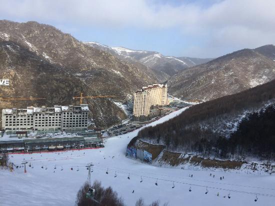 Chongli County, China: Wanlong Ski Area