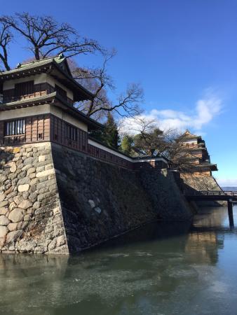 Takashima Castle: 角櫓と天守閣