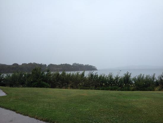 Woodbridge, Australia: View from the restaurant