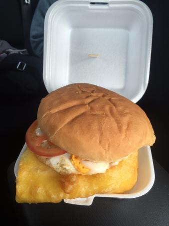 Mainly Seafood: Blue cod fish burger