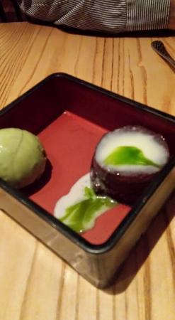 Nobu: Bento box dessert