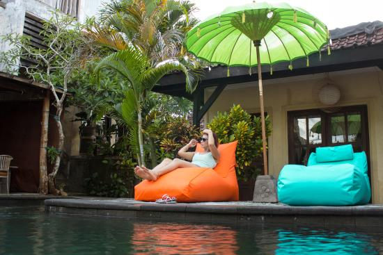 Surfer Cave Accommodation: New Sunbed Pool