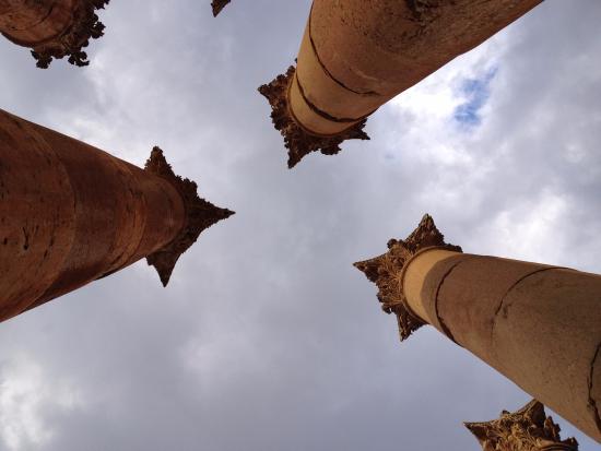 Руины Джараша: Looking Up