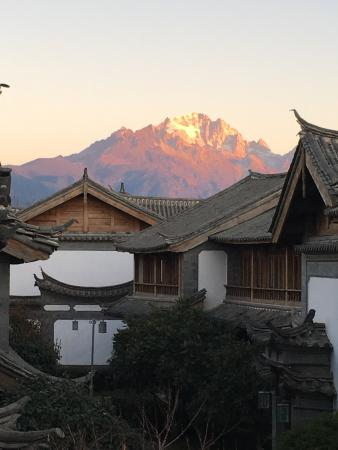 InterContinental Lijiang Ancient Town Resort: 朝食場所からの眺め