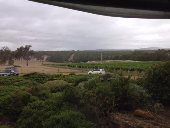 Mount Barker, Australië: Views from Galafrey Wines