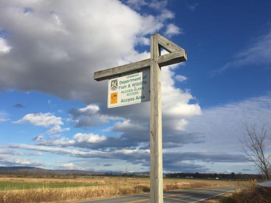 Addison, Vermont: McCuen Slang Access
