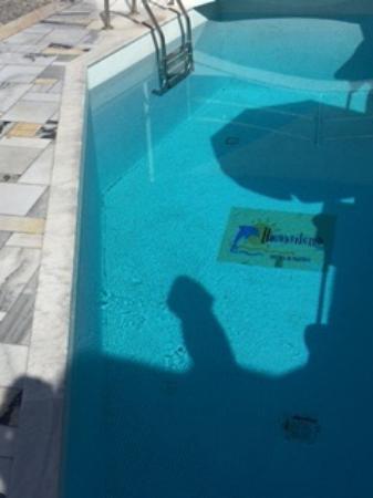 Iliovasilema Suites: Pool size