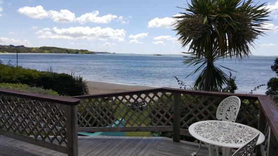Mangonui, Nueva Zelanda: View from unit window