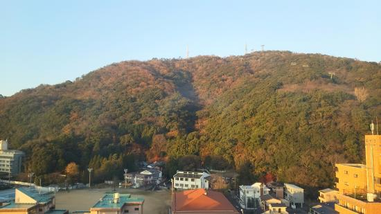 Toyoko Inn Tokushima-eki Bizan-guchi: 朝の眉山
