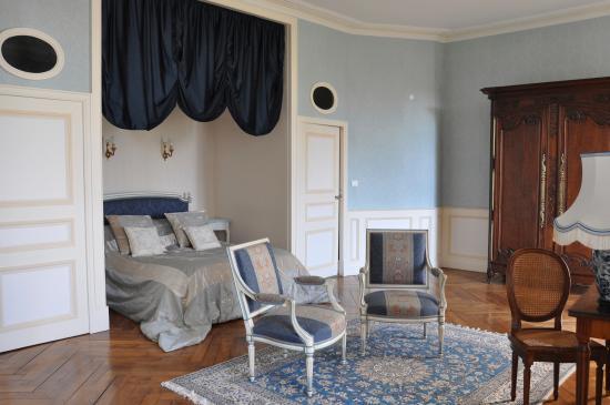 Château de la Foltière : Chambre Monet