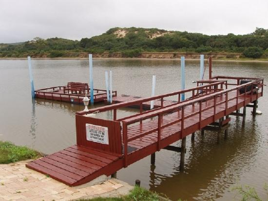 ‪‪Addo‬, جنوب أفريقيا: Jetty for Guests to use‬