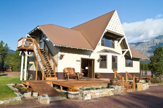 Summit Mountain Lodge: Lodge built in 1906