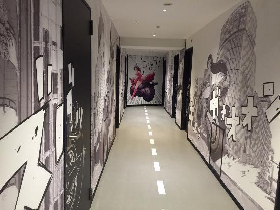 Japanese Manga Decor In Shibuya Hotel En Picture Of Shibuya Hotel