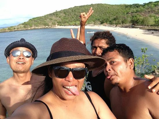 Desa Sekotong Barat, Indonésie : Pantai Pink